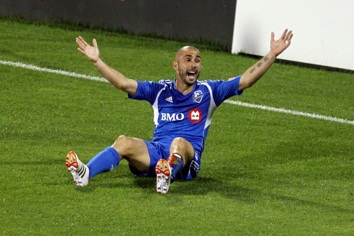 Marco Di Vaio. When he's not complaining, he's actually quite good.