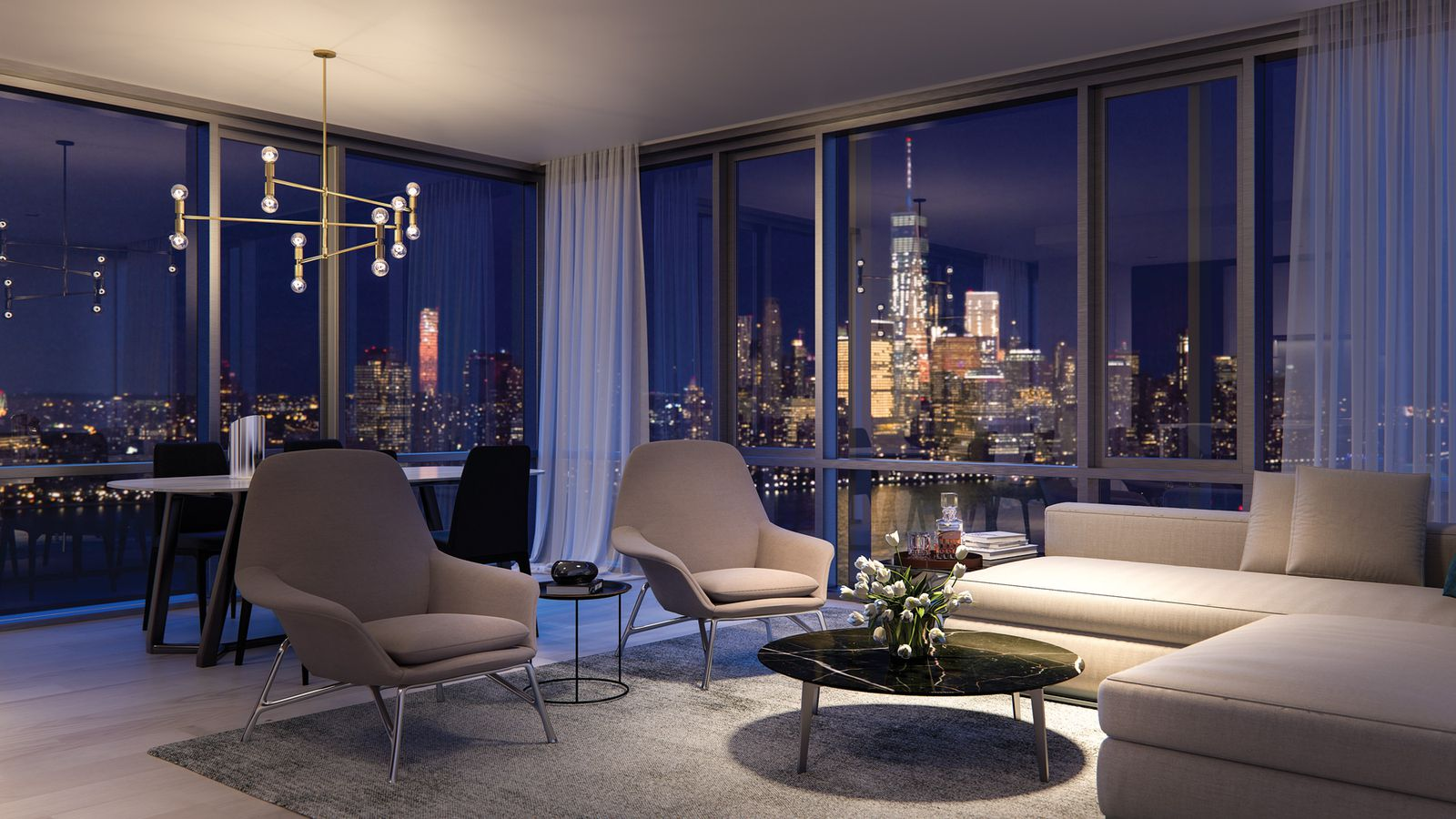 Peek Inside Park And Shore Jersey City S Ultra Luxury