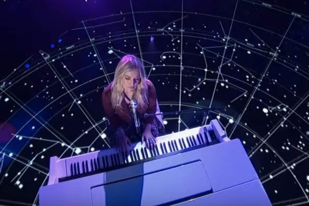 """Utah """"American Idol"""" contestant Ashley Hess performed Sunday night as a part of the top 14 competition."""