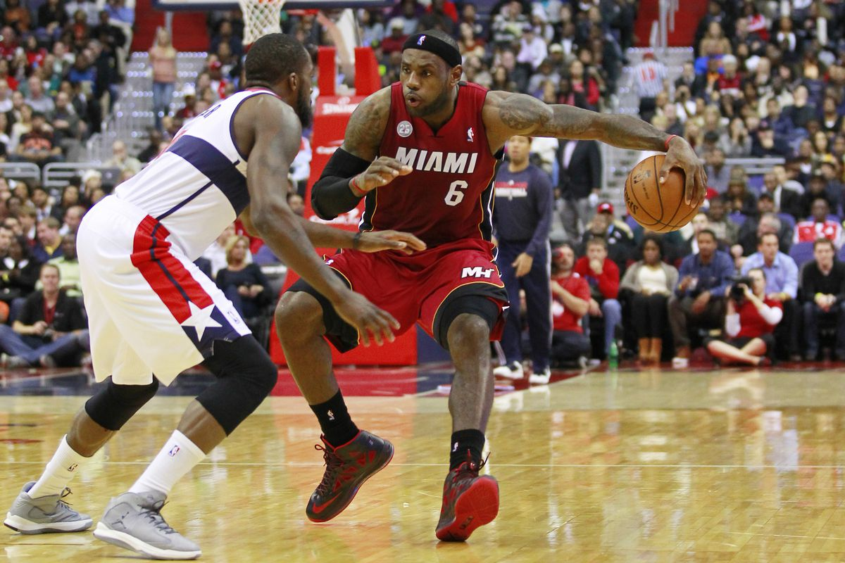 LeBron and the Heat are playing with offensive wizardry, and will win most games regardless, but the defense is still lagging.