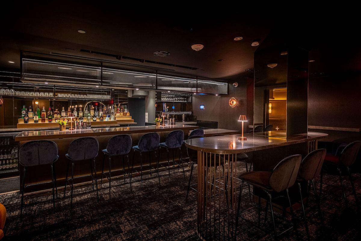 Intercrew bar area in Koreatown, Los Angeles