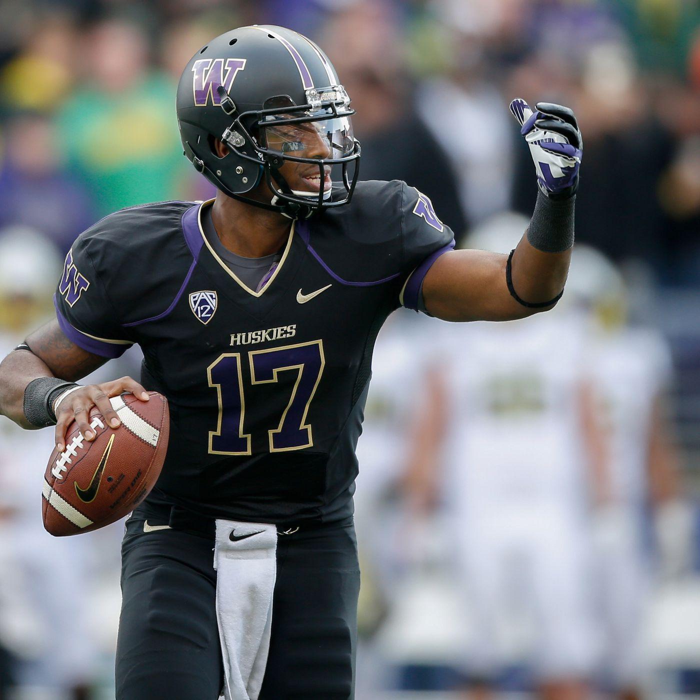Aaron Fuller Washington Huskies Football Jersey - Purple
