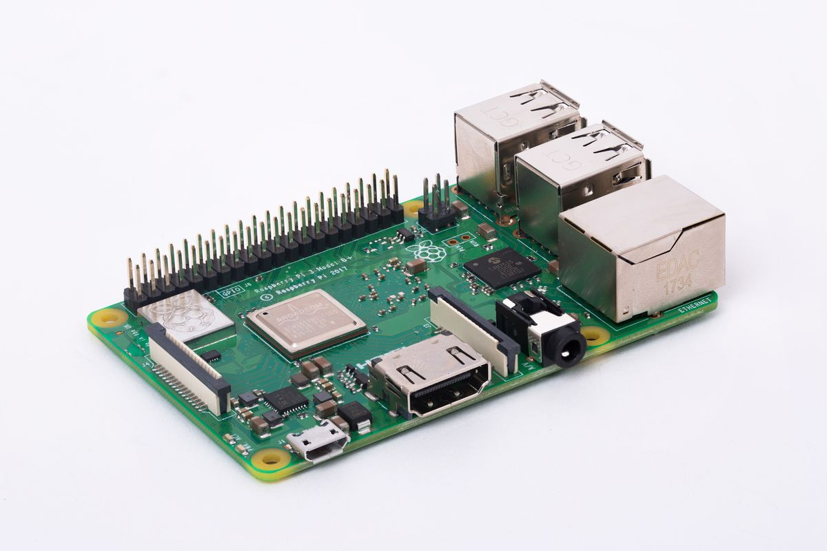 The Raspberry Pi 3 Model B+ microcomputer promises more speed