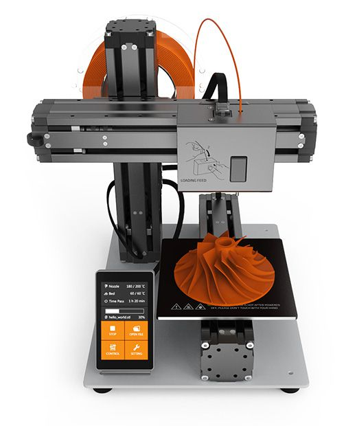 This modular 3D printer can turn into a CNC machine or laser