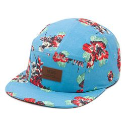 """<b>For the geeky dad:</b> Yoda is camouflaged by hibiscus blossoms in this <a href=""""http://www.vans.com/shop/mens-accessories-hats-snapbacks/vans-x-star-wars-yoda-5-panel-hat-yoda-aloha"""">Star Wars Yoda Aloha 5-Panel Hat</a>, $30 at Vans."""