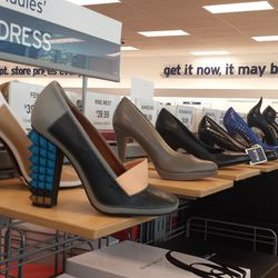 That back wall is onto something. Fendi heels were $399.99 (orig. $790)