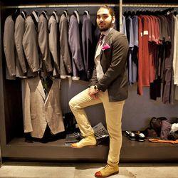 Stylehaus' men's custom clothing specialist, Chris Gimeno Chollet was part of Tom Ford's design team in Paris.