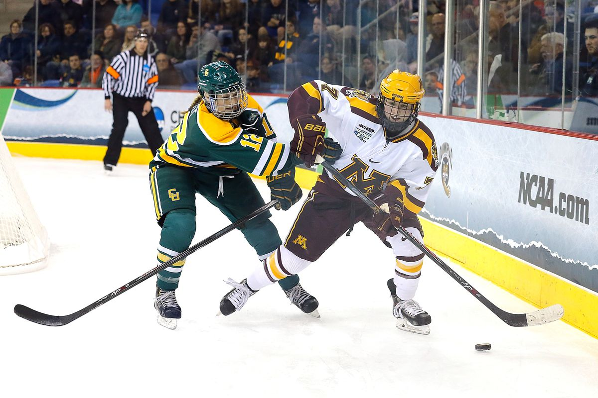 Senior Rachael Bona has just one goal in 10 games for the Gophers, who went winless two weeks ago against Bemidji State and face off against Ohio State this weekend.