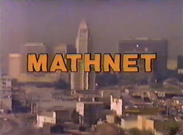 Mathnet's opening shot.