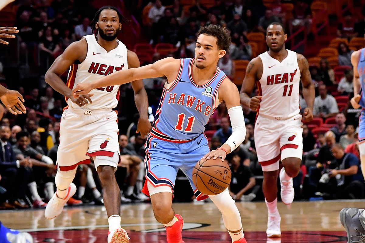 cfe38703744 Trae Young seeing more traps means Hawks will need big men to excel in  short roll action - Peachtree Hoops