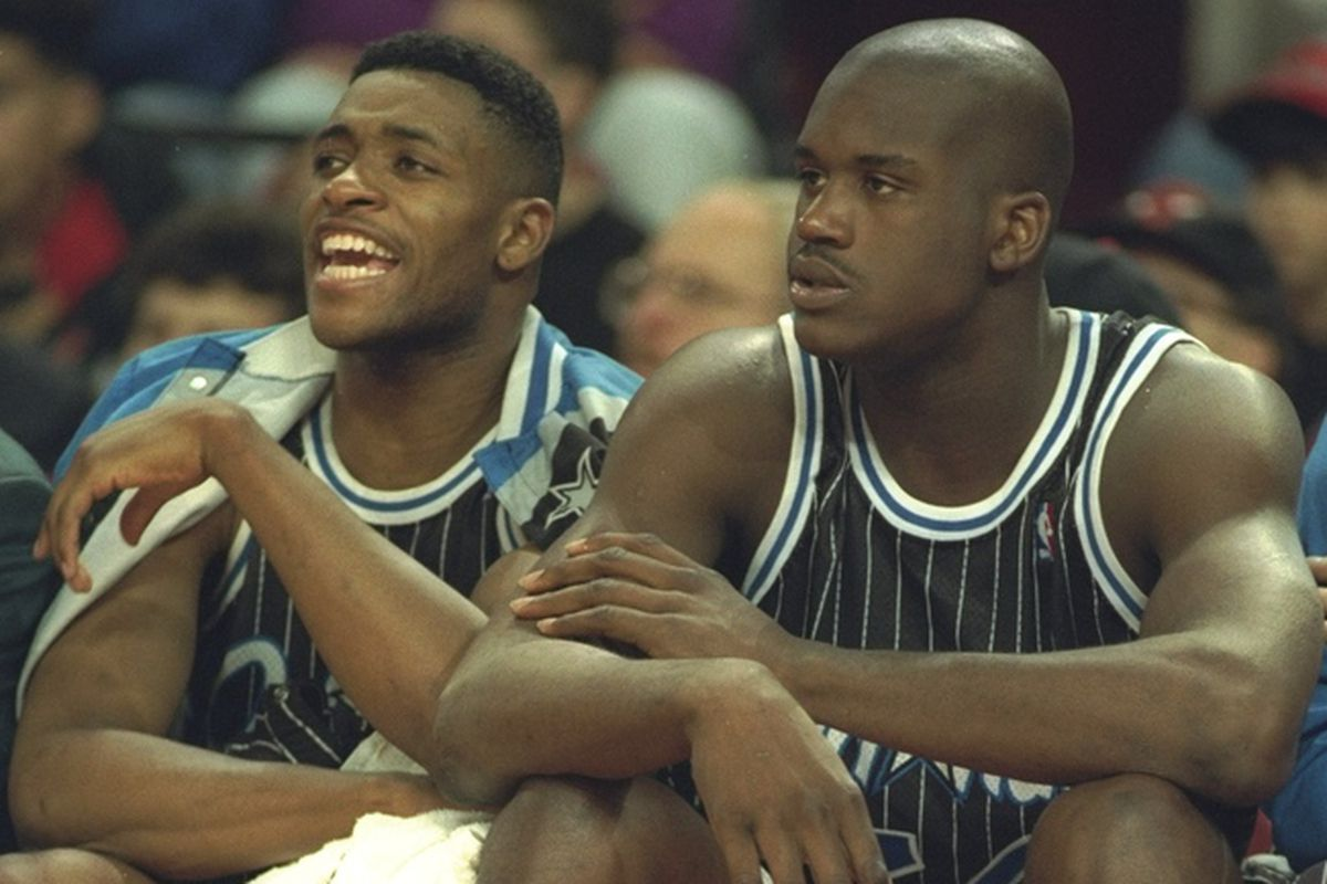 best sneakers 601e0 6cc90 Magic trio of Shaquille O'Neal, Penny Hardaway, and Nick ...