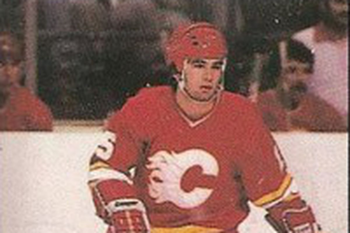 Kevin LaVallee scored 66 goals with 65 assists in 212 games for the Flames.