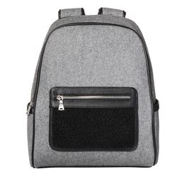 Shearling Backpack in Grey, $39.99 Target.com Only