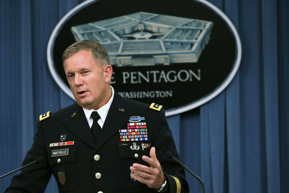 Lt. Gen. William C. Mayville Jr. discusses the US bombing campaign in Syria