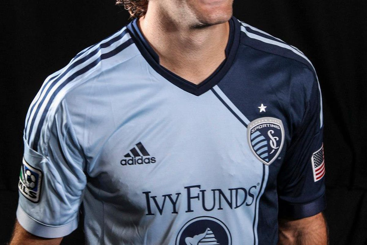 meet 75581 b7c97 New Sporting KC primary jersey revealed - The Blue Testament