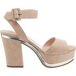"<b>Miu Miu</b> Metallic Trimmed Platform Sandal, <a href=""http://www.barneys.com/on/demandware.store/Sites-BNY-Site/default/Product-Show?pid=502392990&cgid=womens-shoes&index=18"">$730</a>"