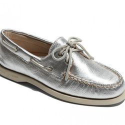 """Sperry Toppsiders, $84.95 at <a href=""""http://shop.nordstrom.com/s/sperry-top-sider-authentic-original-leather-boat-shoe/2854834?origin=category&resultback=173"""" rel=""""nofollow"""">Nordstrom</a>"""