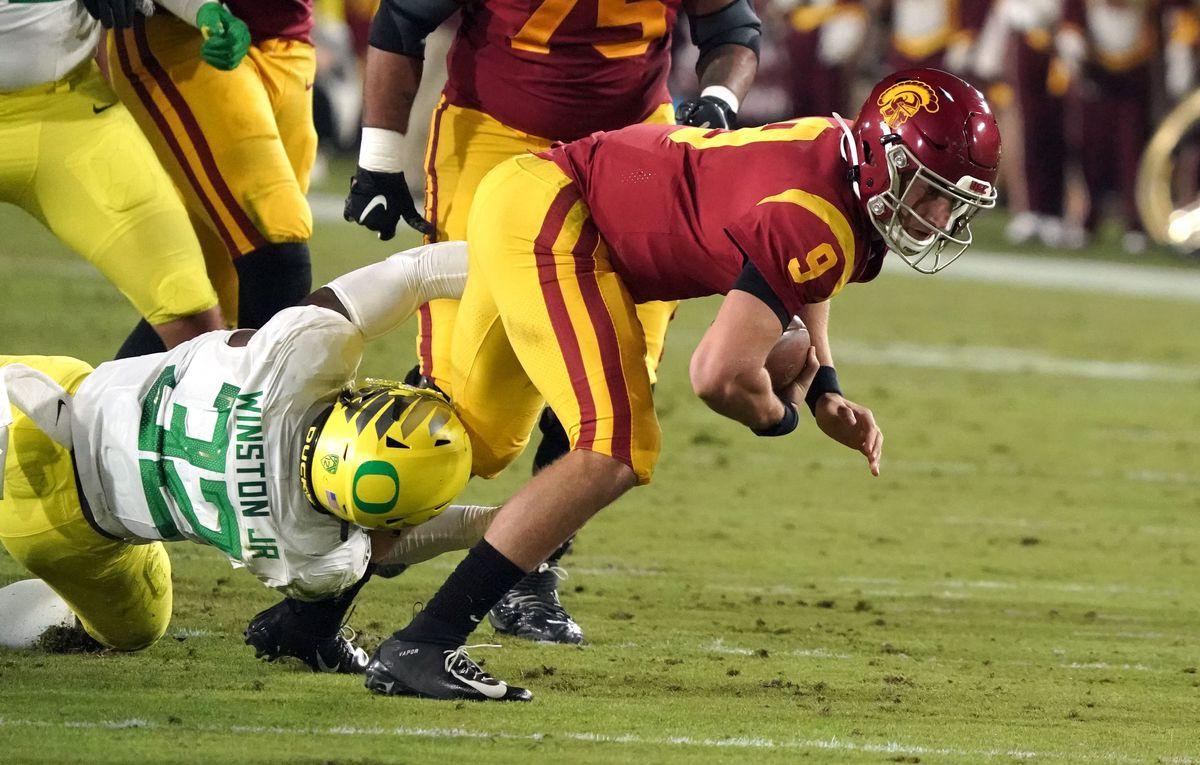USC vs OREGON Football