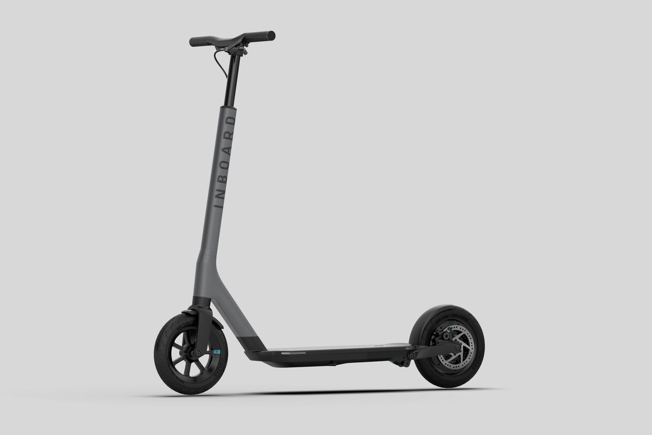electric skateboard startup inboard announces an e scooter with swappable batteries