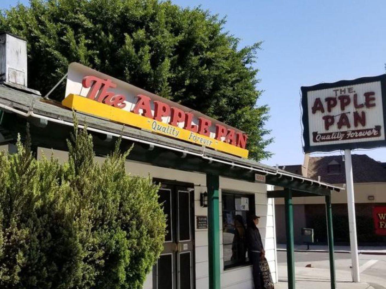 Outside The Apple Pan, West LA