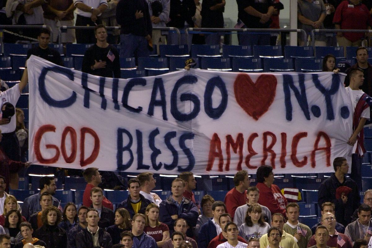 8c1b98ea2b4 The impact of the 2001 Yankees on a country in mourning - Pinstripe ...