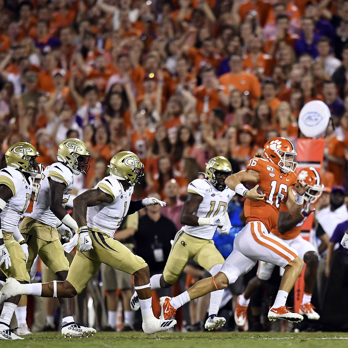 Self Scouting The Opponent Clemson Vs Georgia Tech Shakin The Southland