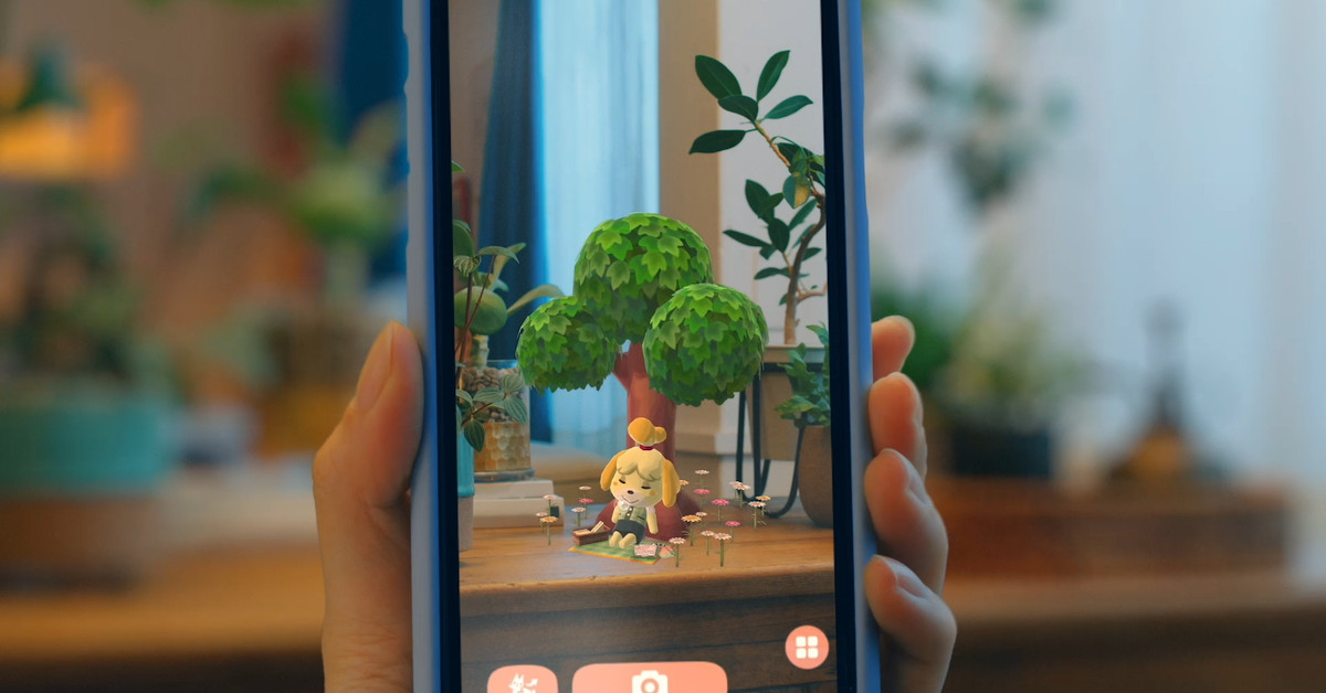 Animal Crossing: Pocket Camp update brings AR features for newer devices – The Verge