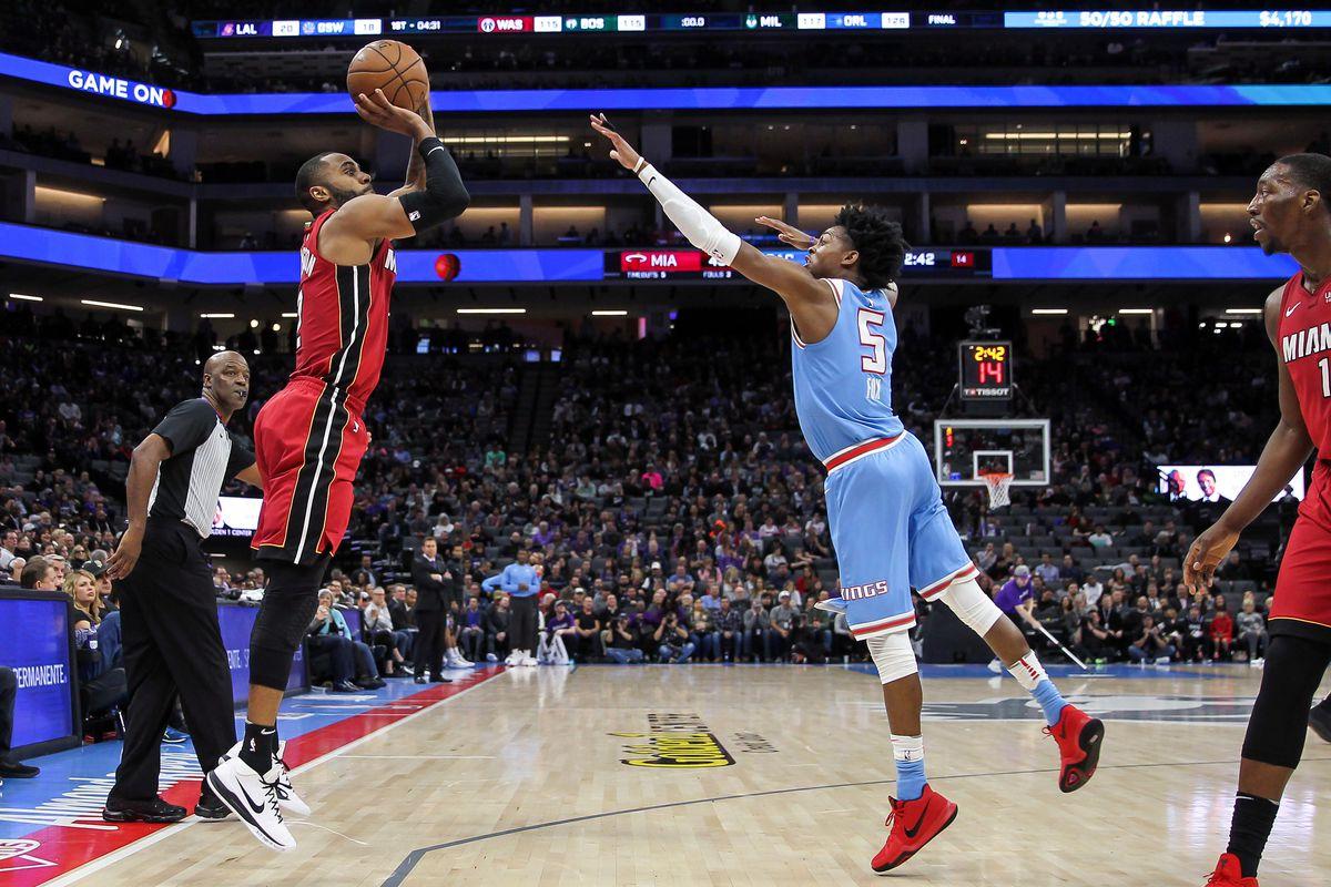 NBA: Miami Heat at Sacramento Kings