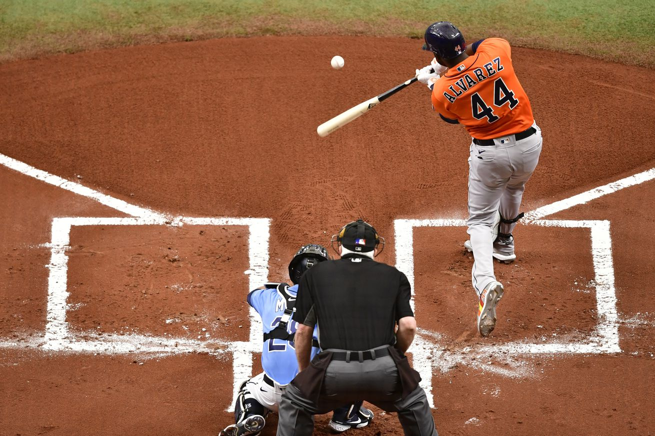 Houston Astros v Tampa Bay Rays