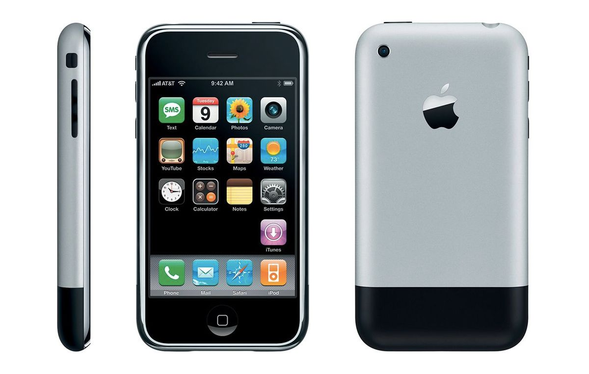 iphone first year the iphone turns 10 a visual history of apple s most 9000