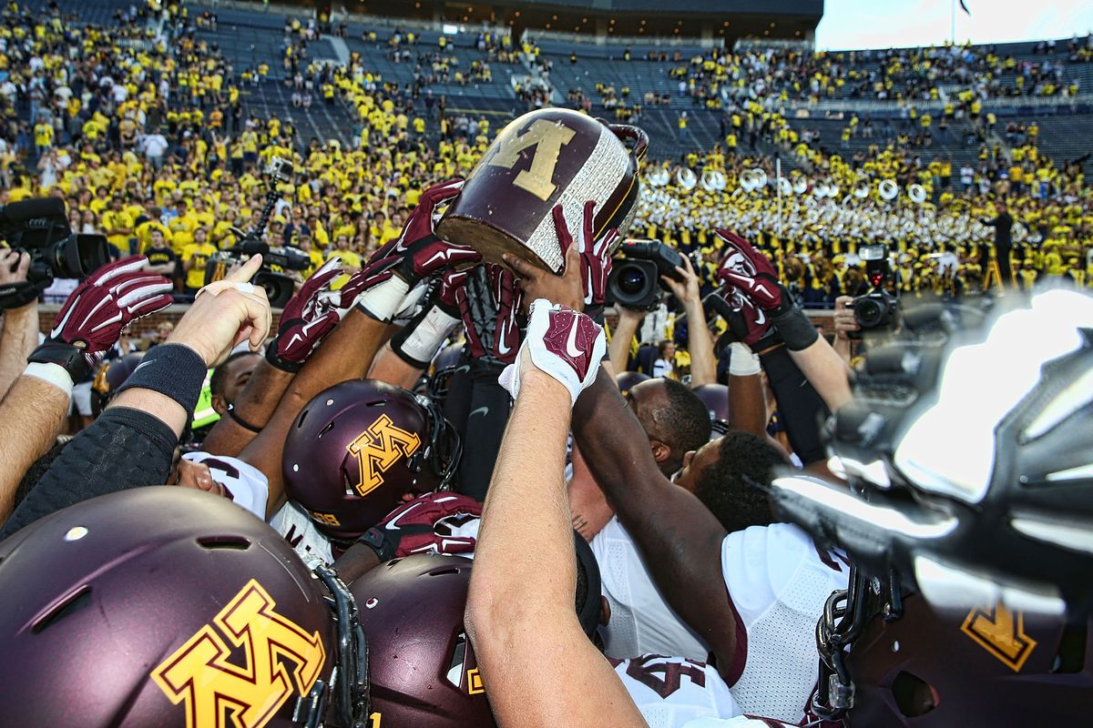 The Gophers and Wolverines will face off for the Little Brown Jug on Saturday