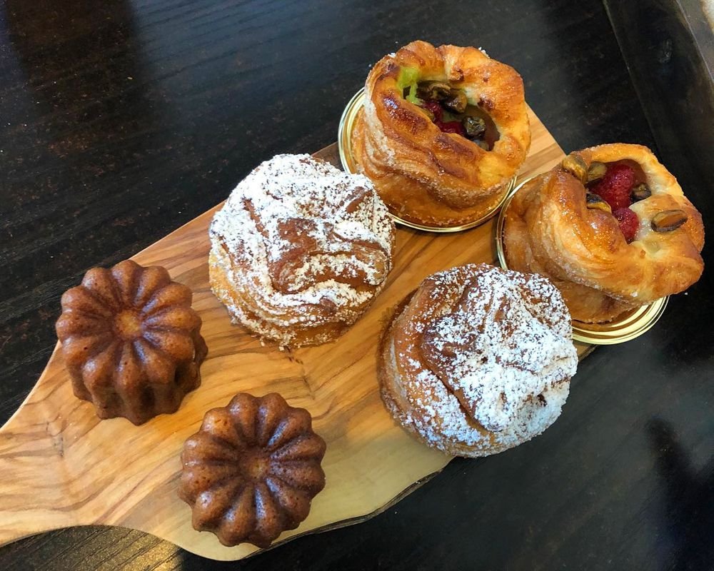 Pastries at The Coffee Class