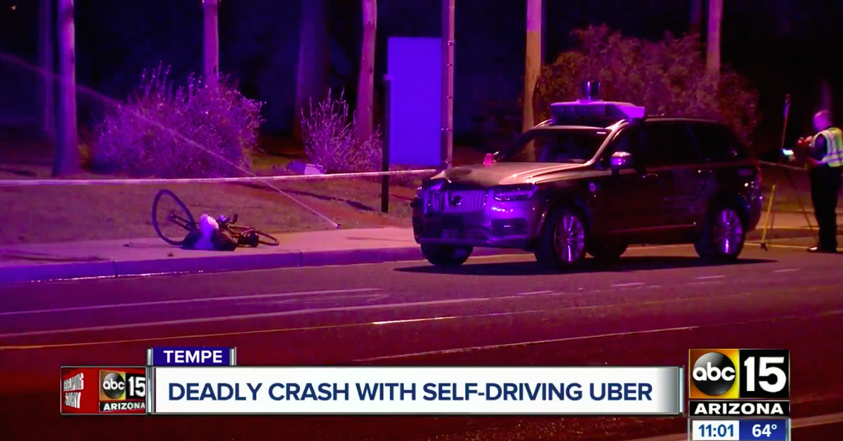 Uber is at fault for fatal self-driving crash, but it's not alone
