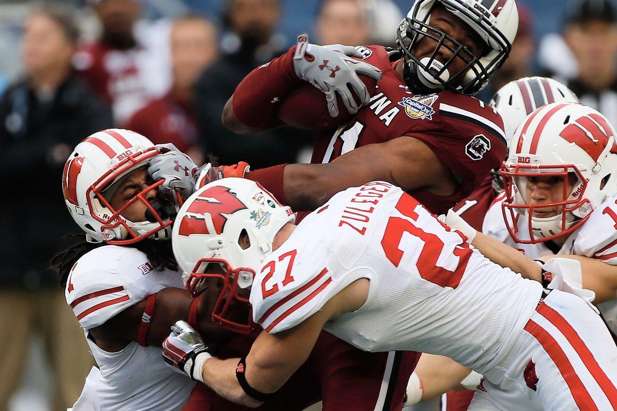 Capital One Bowl - Wisconsin v South Carolina