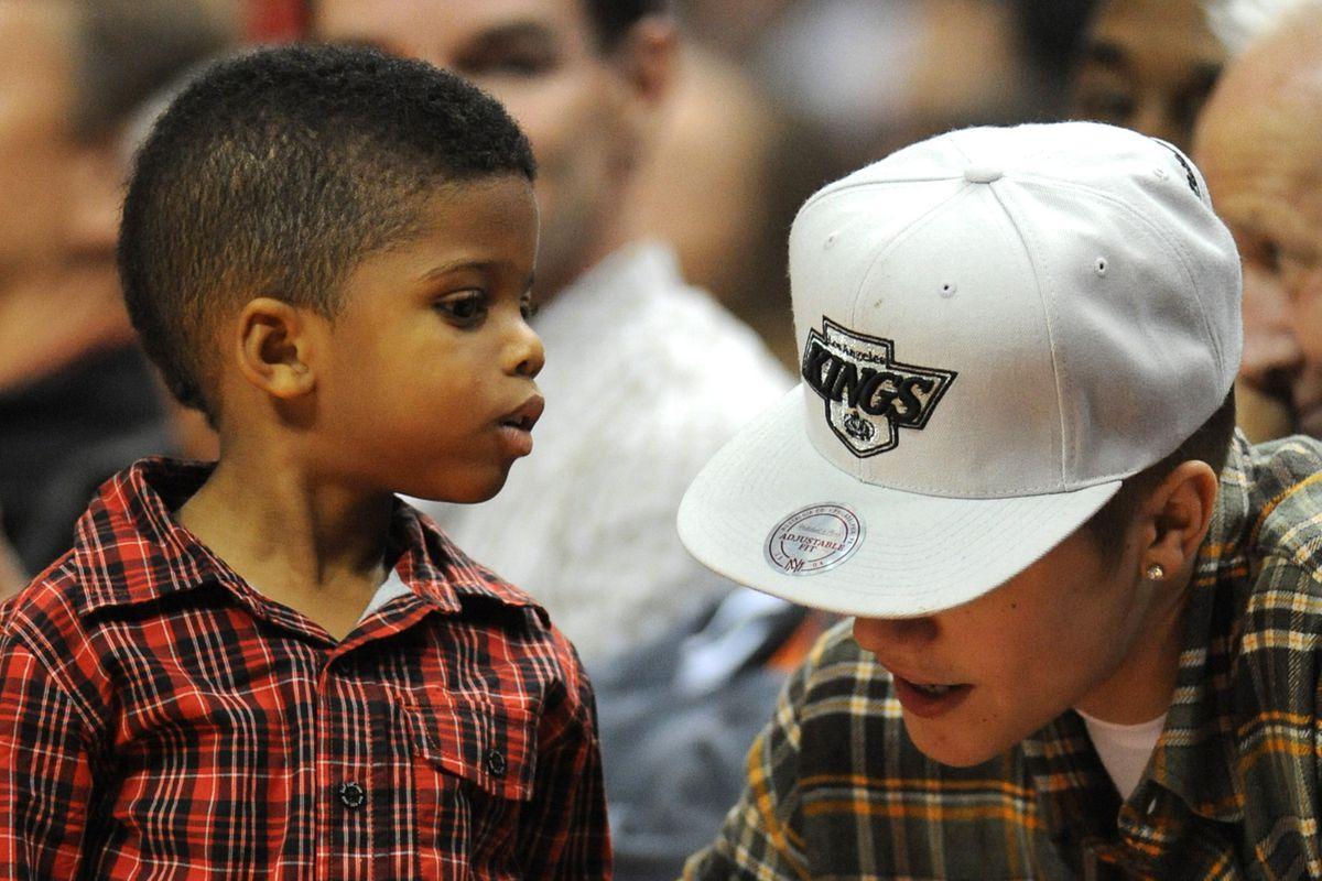 Chris Paul III and Justin Bieber