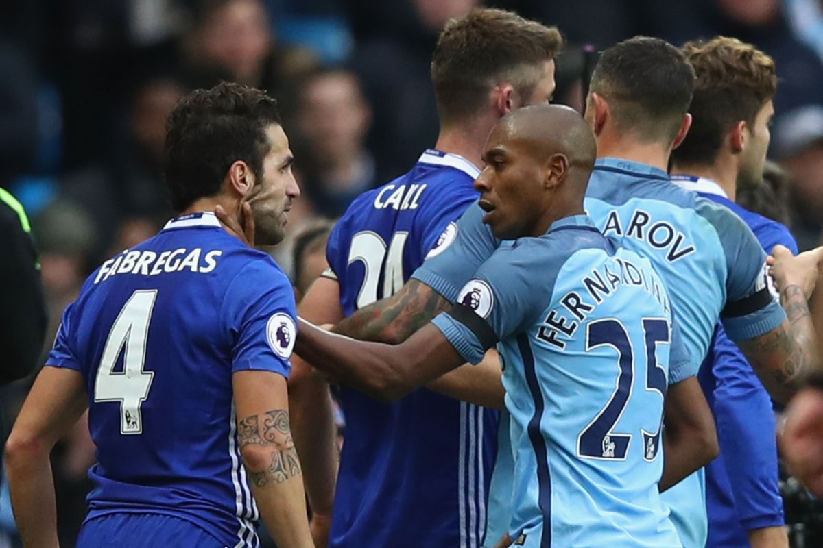 The FA rule on Aguero Fernandinho Fabregas and charge both