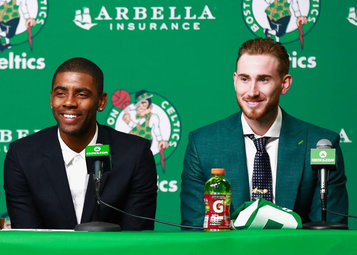 Boston Celtics Introduce Kyrie Irving