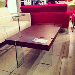 While Revivals was brimming with secondhand apparel and accessories, we were most enchanted with the shop's incredible selection of home furnishings. There were tons of large items—like this must-have floating table—going for $100 to $300. Not