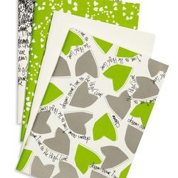"""The DVF High Line Notebook Set, <a href=""""http://www.thehighline.org/shop/fhl-collection/dvf-high-line-notebook-set"""">$29</a>"""