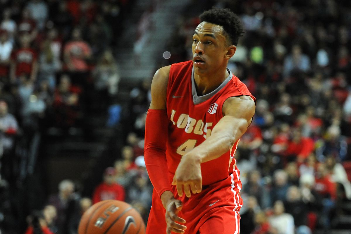 Elijah Brown matched his career high with 33 points in a New Mexico victory.