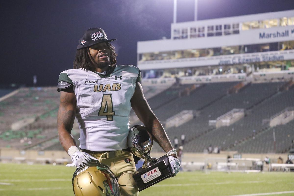 NCAA Football: Alabama-Birmingham at Marshall