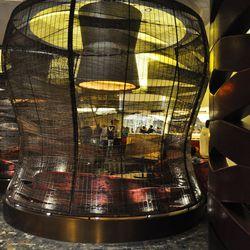 Basket pods at Nobu Restaurant & Grill.