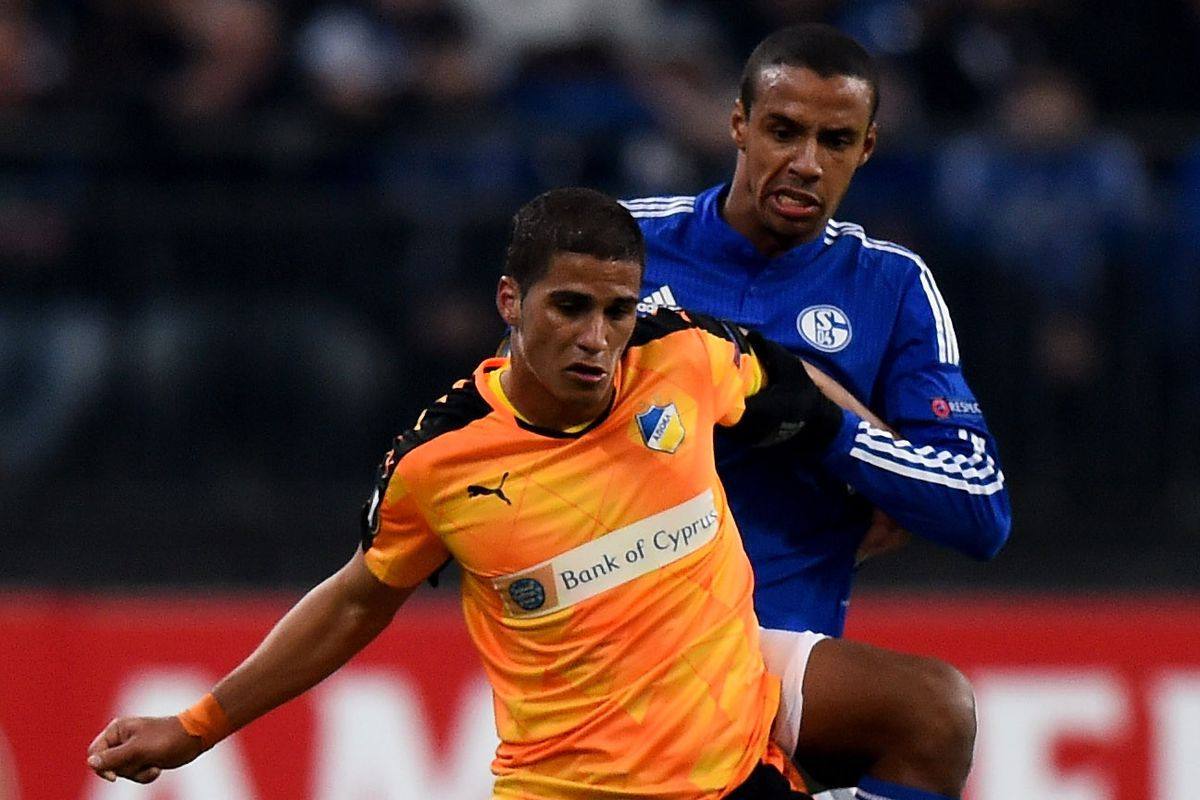 Schalke centre back Joel Matip