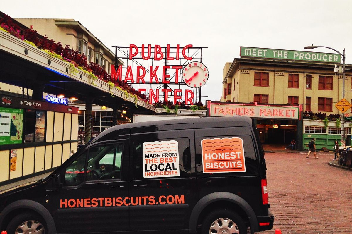 Honest Biscuits opens at Pike Place on Tuesday