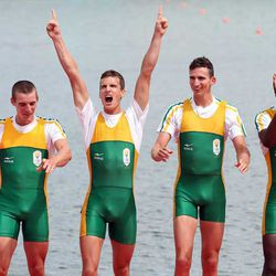 South Africa rowers: Photo by Ezra Shaw/Getty Images