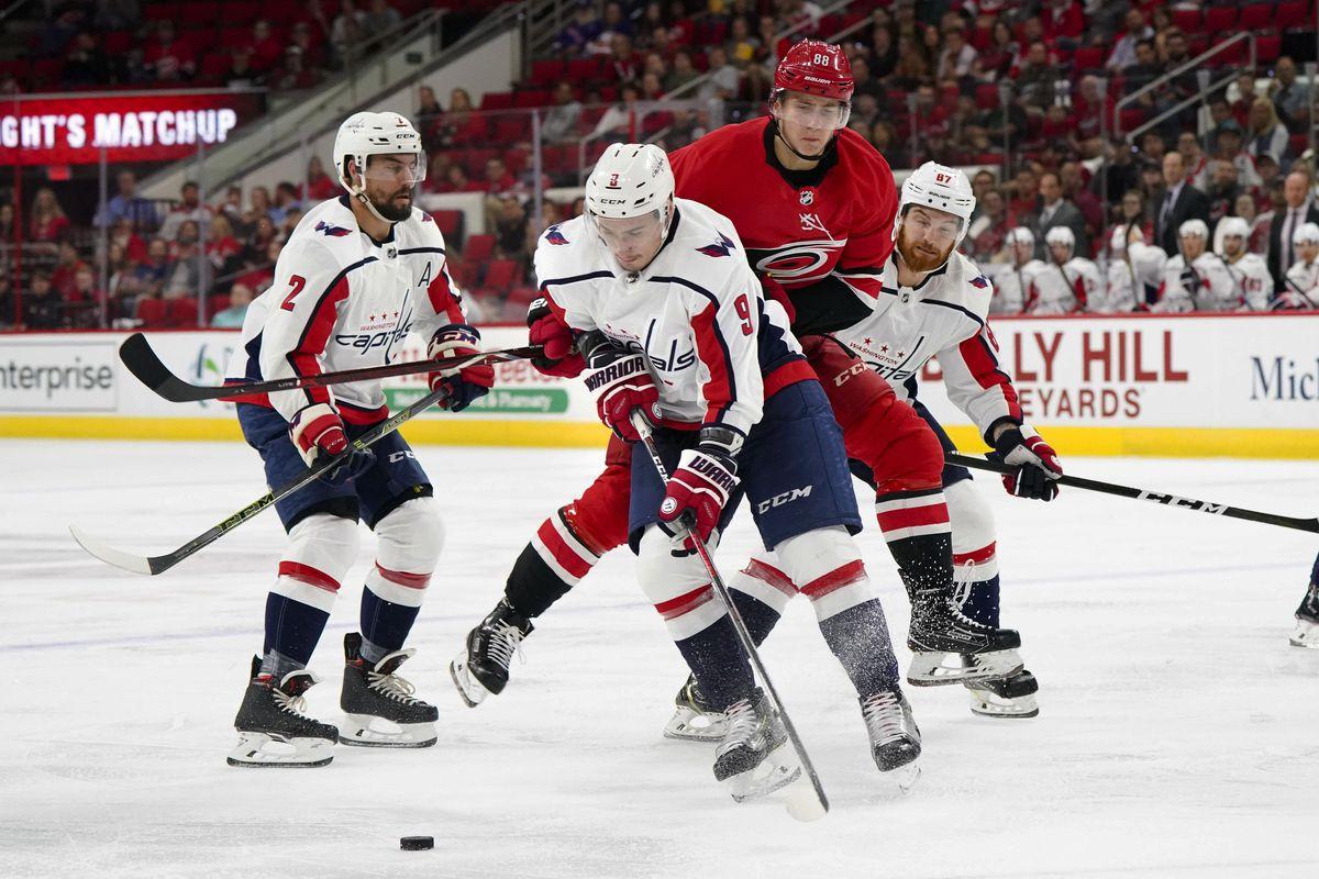 NHL: Preseason-Washington Capitals at Carolina Hurricanes