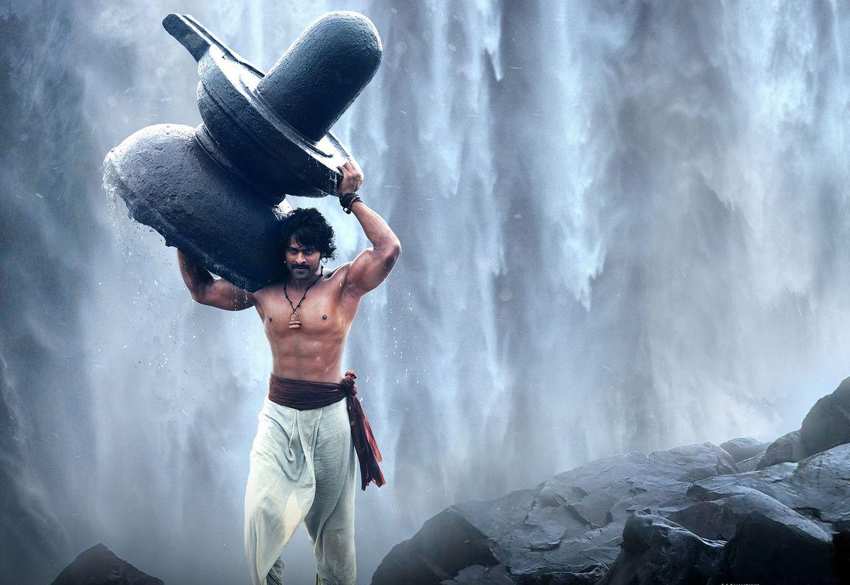 Baahubali: The Beginning - prabhas as baahubali