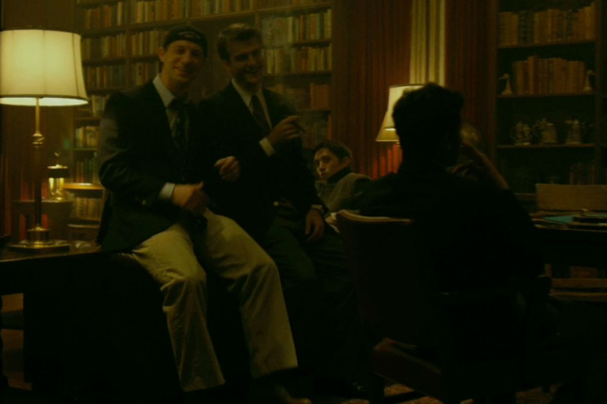 A final club scene from The Social Network