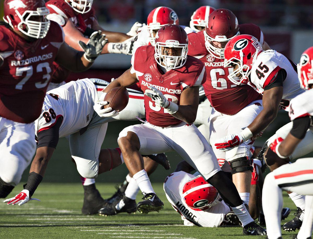 Georgia Bulldogs v Arkansas Razorbacks