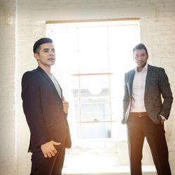 David Archuleta and Nathan Pacheco performed Christmas music throughout Utah in 2016.